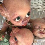 bebes reborn en valencia - dolly alive - kits Bispey, Beesley, Tinky de la escultora Cindy Musgrove