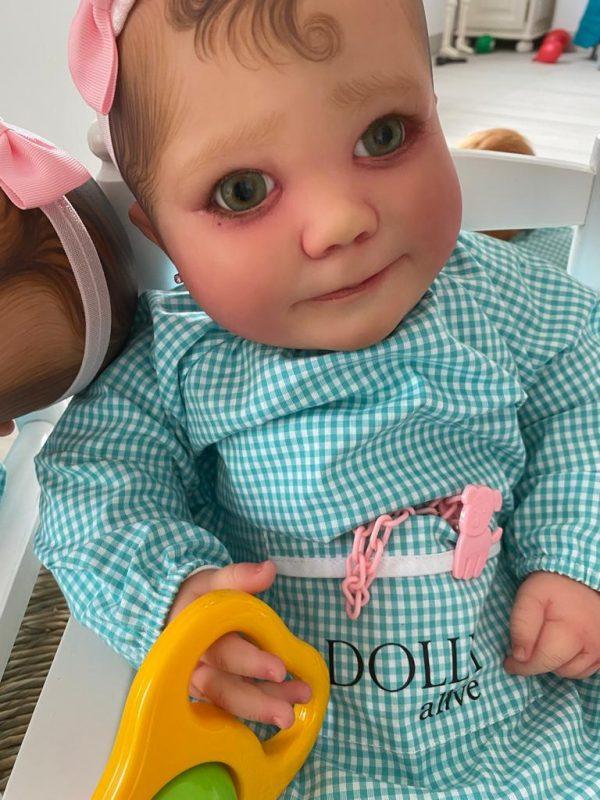 June 7 meses despierta bebes reborn dolly alive