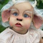 Alumna Benny bebes reborn online en la tienda de bebes reborn de silicona Dolly Alive en Valencia
