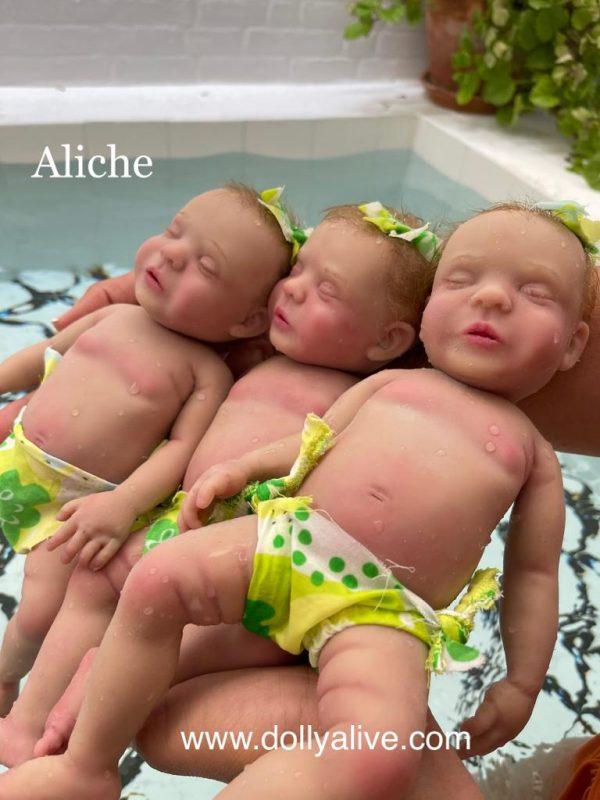 Bebés reborn dolly alive aliche kit