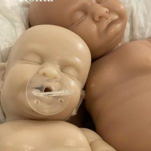 Kit Modelo Nolita sin pintar bebes silicona dolly alive